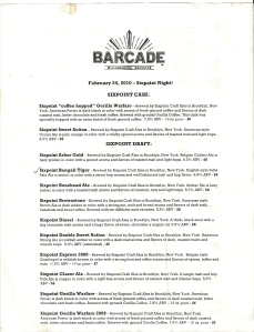 Six Point Night at Barcade