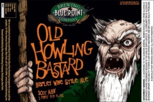 Old Howling Bastard Label