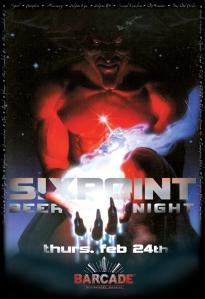 Sixpoint at Barcade Night!